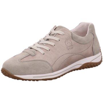 Gabor comfort Sportlicher SchnürschuhSneaker beige
