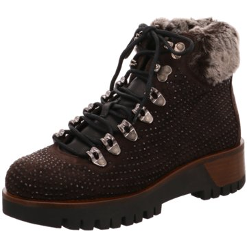 Alpe Woman Shoes SchnürbootTiana braun
