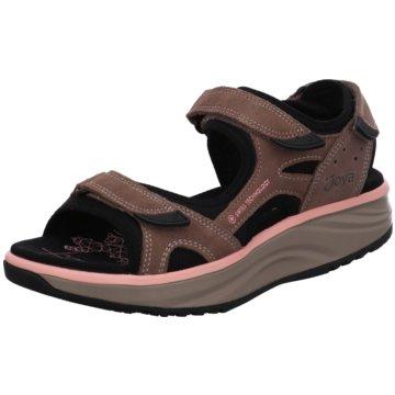 Joya Komfort Sandale braun
