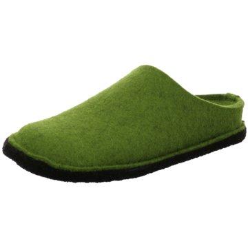 Haflinger HausschuhFlair Soft grün