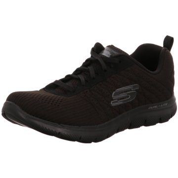 Skechers - Flex Appeal 2.0 - Break Free,Schwar -