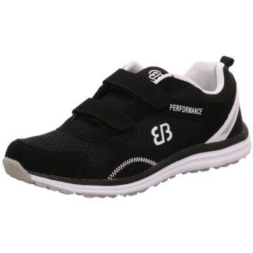 Geka Sneaker LowPerformance V schwarz