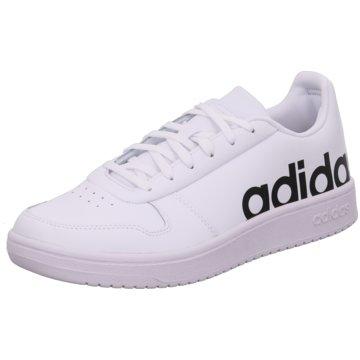adidas Sneaker LowHoops 2.0 LTS weiß