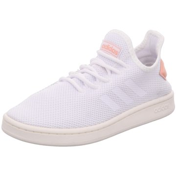 super popular 698da b4243 adidas - COURT ADAPT,FTWWHTFTWWHTDUSPNK -