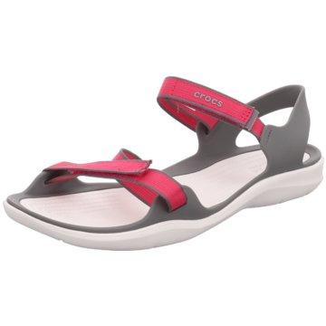 CROCS BadeschuhSwiftwater Webbing Sandal W pink