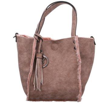 Suri Frey Taschen DamenWendetasche Fell rosa