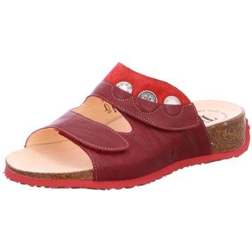 Think Komfort PantoletteMizzi rot
