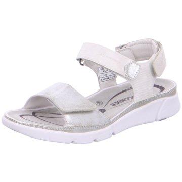 Allrounder Komfort Sandale silber
