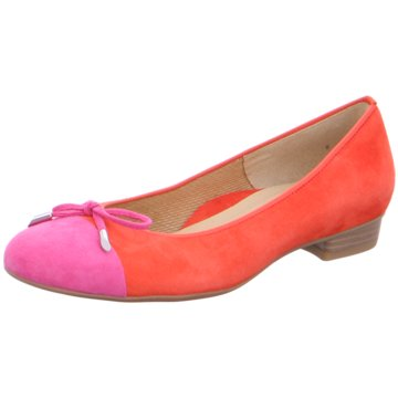 ara Flacher Pumps orange