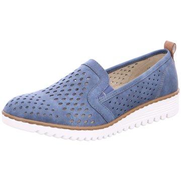 Jenny Sportlicher Slipper blau