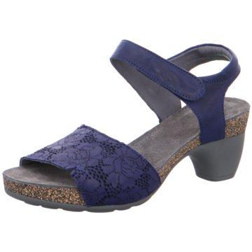 Think Plateau Sandalette blau