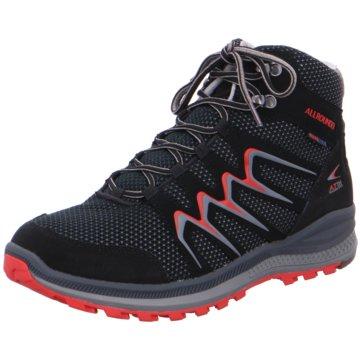 Mephisto Outdoor Schuh schwarz