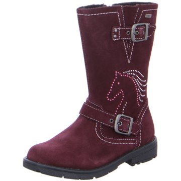 Salamander Hoher Stiefel rot