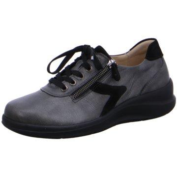 Fidelio Komfort Schnürschuh grau