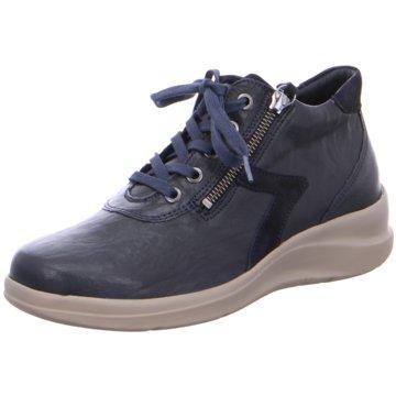 Fidelio Komfort Stiefelette blau