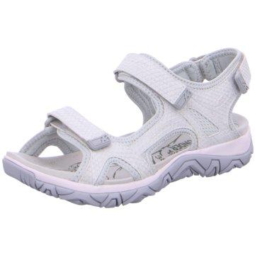 Allrounder Komfort Sandale weiß