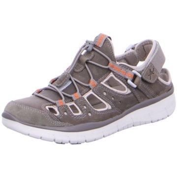 Allrounder Komfort Sandale grau