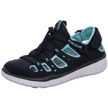 Allrounder Komfort Sandale blau