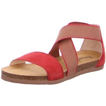 Think Komfort Sandale rot