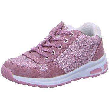 Lurchi Sportlicher Schnürschuh rosa
