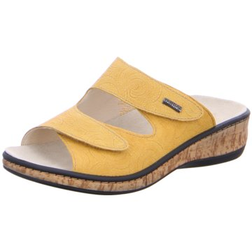 Fidelio Komfort Pantolette gelb