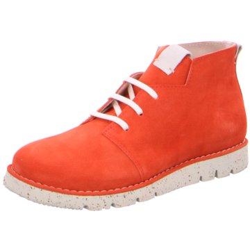 Brako Komfort Stiefelette orange