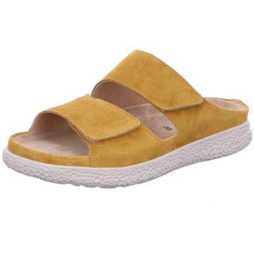 Hartjes Komfort Pantolette gelb