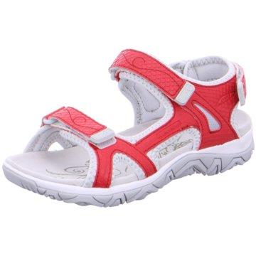 Allrounder Offene Schuhe rot