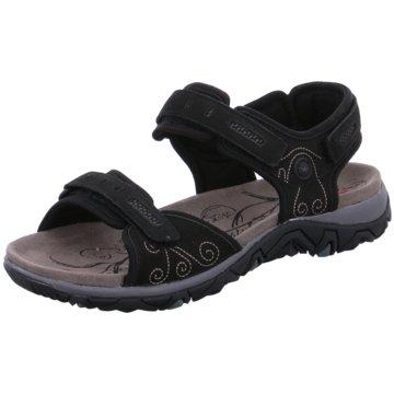 Allrounder Komfort Sandale schwarz