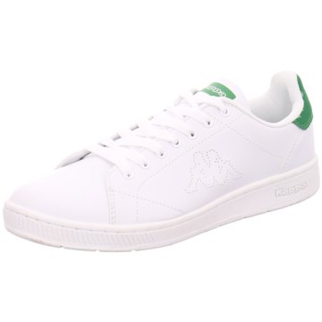 Kappa - Shoes Adults,WHITE/GREEN -