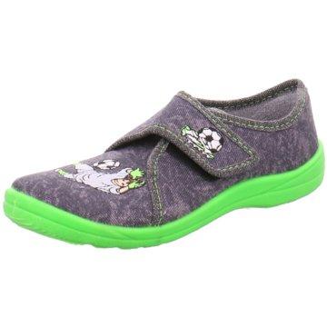 Fischer Schuhe HausschuhTorwart grau