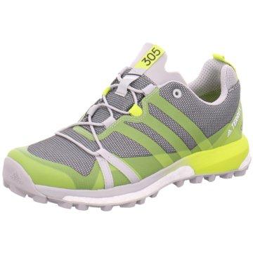 adidas TrailrunningTerrex Agravic GTX Damen Outdoorschuhe Trail-Running grau gelb grau