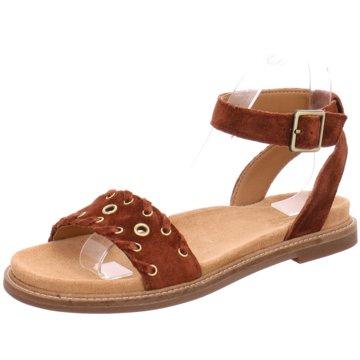 Clarks Komfort Sandale braun