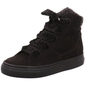 Paul Green Sneaker High schwarz