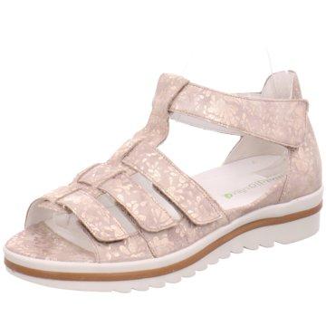 Waldläufer Komfort Sandale gold