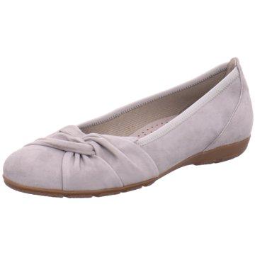 Gabor Klassischer Ballerina grau