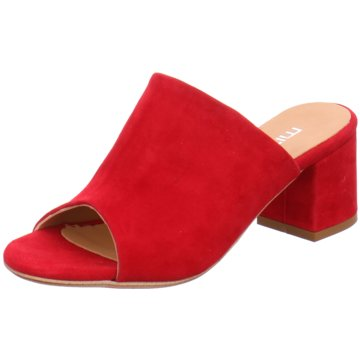 Mitica Klassische Pantolette rot