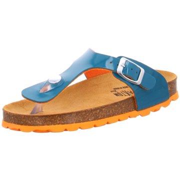 eurogloria Offene Schuhe blau