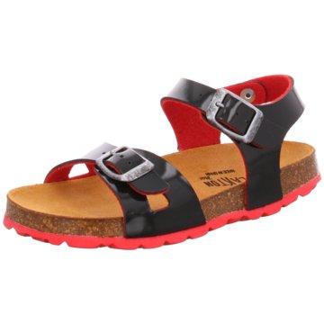 eurogloria Offene Schuhe schwarz