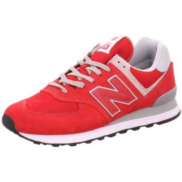 New Balance Sneaker Low574 D rot