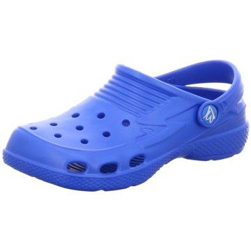 Beck Offene Schuhe blau