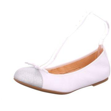 Unisa Klassischer Ballerina weiß