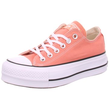 Converse Plateau Sneaker orange
