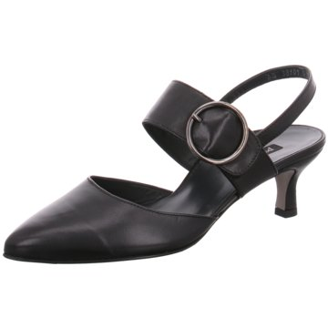Paul Green Slingpumps schwarz