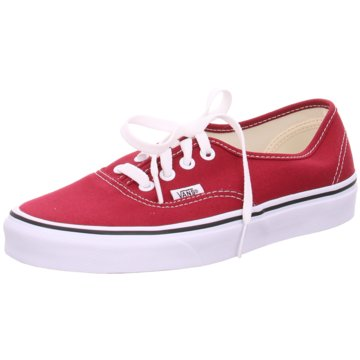 Vans SkaterschuhUA Authentic rot