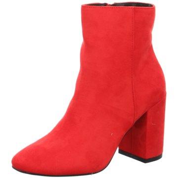Monshoe Klassische Stiefelette rot