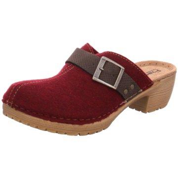 Fischer Schuhe Clog rot