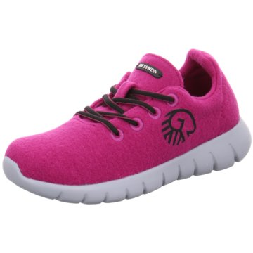 Giesswein Sportlicher SchnürschuhMerino Runner pink