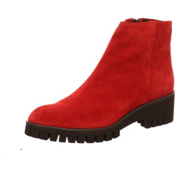 Lamica Klassische Stiefelette rot