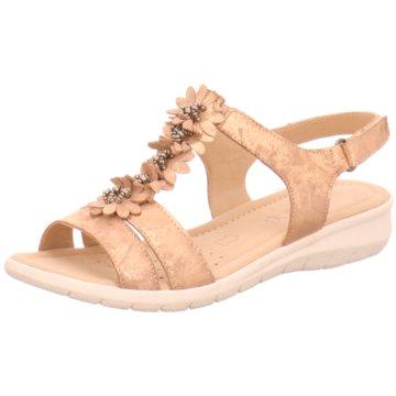 Caprice Komfort Sandale beige